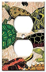 Art Plates - Turtles Switch Plate - Outlet Cover