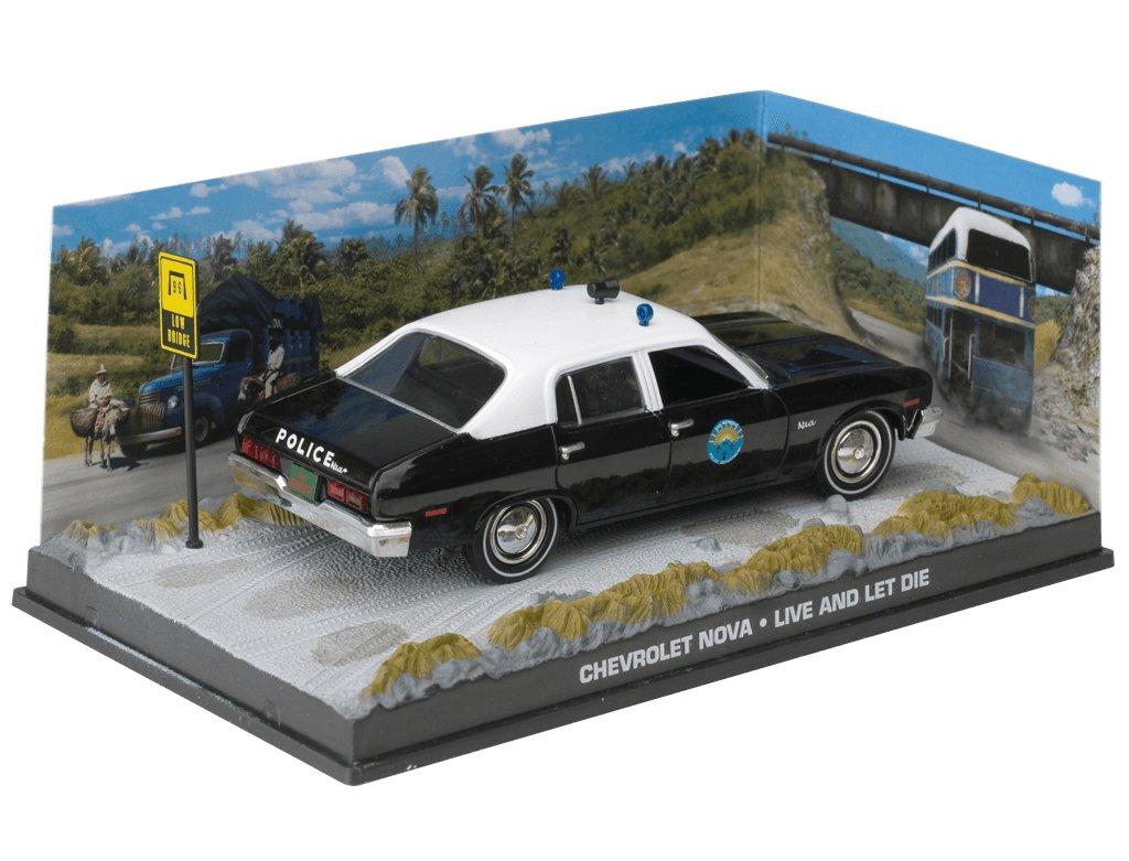 007 James Bond Car Collection #43 Chevrolet Nova (Live and let die) GE Fabbri