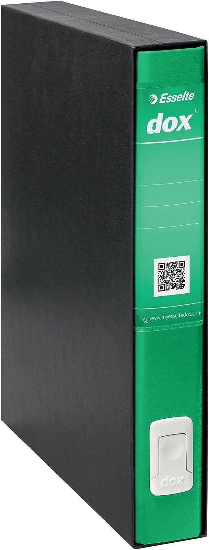 Confezione da 6 Formato A4 Blu Rexel D26404 Dox 4 Registratore a Leva