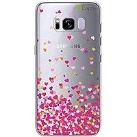 Capa Personalizada Corações Rosa Para Samsung Galaxy S8 Plus - 99capas