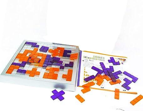 Juego de mesa de estrategia de Tetris de Brigamo: Amazon.es: Juguetes y juegos