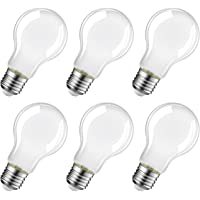 LVWIT Bombillas Blancas de Filamento LED E27 (Casquillo