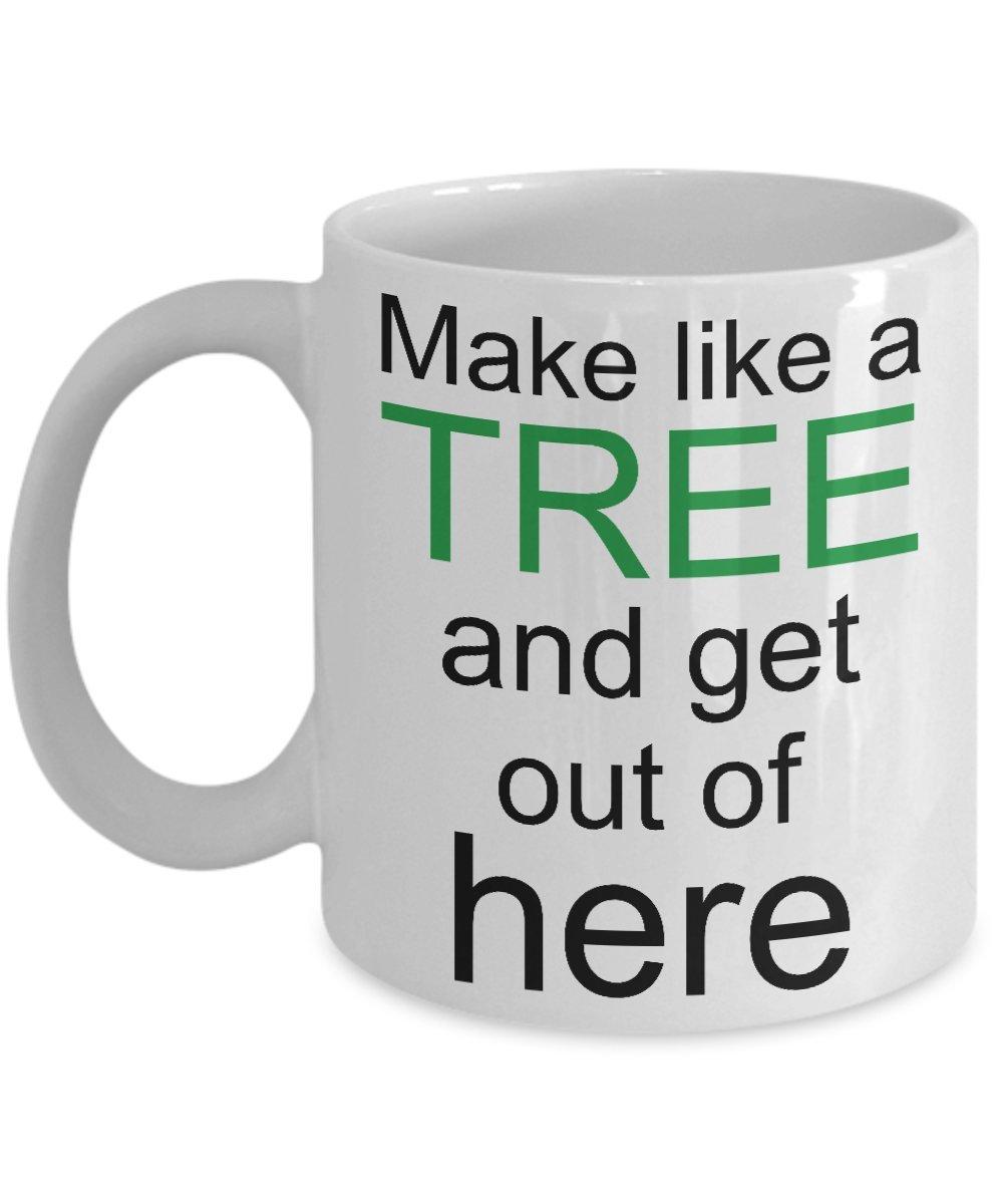 Amazoncom Movie Quotes Back To The Future Make Like A Tree