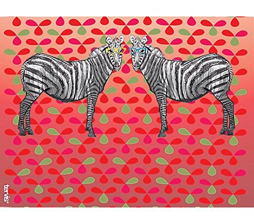 Funky Animals Collection Zebra with Frames Wrap w