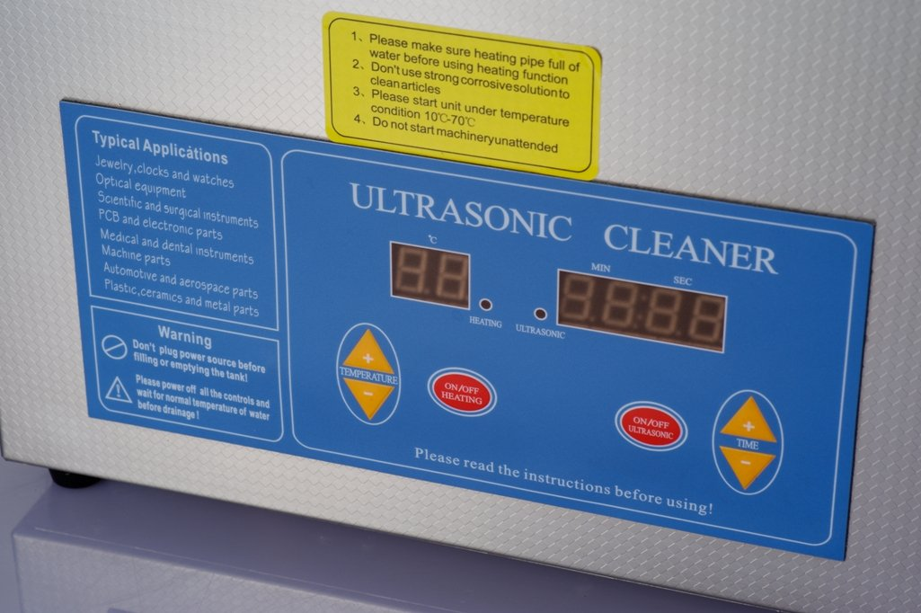 Kendal Commercial grade 780 watts 5.55 gallon heated ultrasonic cleaner HB821 by Kendal (Image #1)