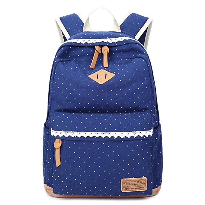 Amazon.com : YKXIAOYU New Shoulder Bag Female Shoulder Bag Female Middle School Student Bag Canvas Female Bag Printed Backpack : Garden & Outdoor