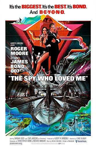 Posters USA - 007 The Spy Who Loved Me James Bond Movie Post
