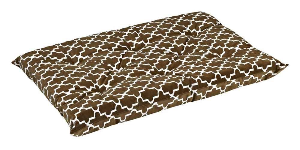 Bowsers Tufted Cushion, X-Large, Cedar Lattice