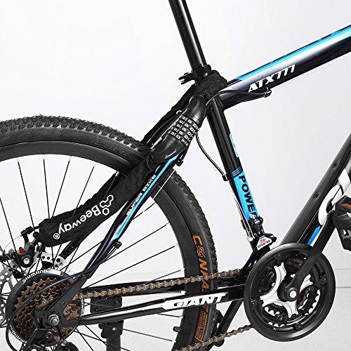 Bike Lock Beeway 174 Combination Bicycle Chain Lock Heavy