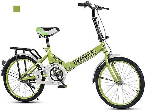 B-D Bicicletas Plegables De 20 Pulgadas Bicicleta Plegable Urbana ...