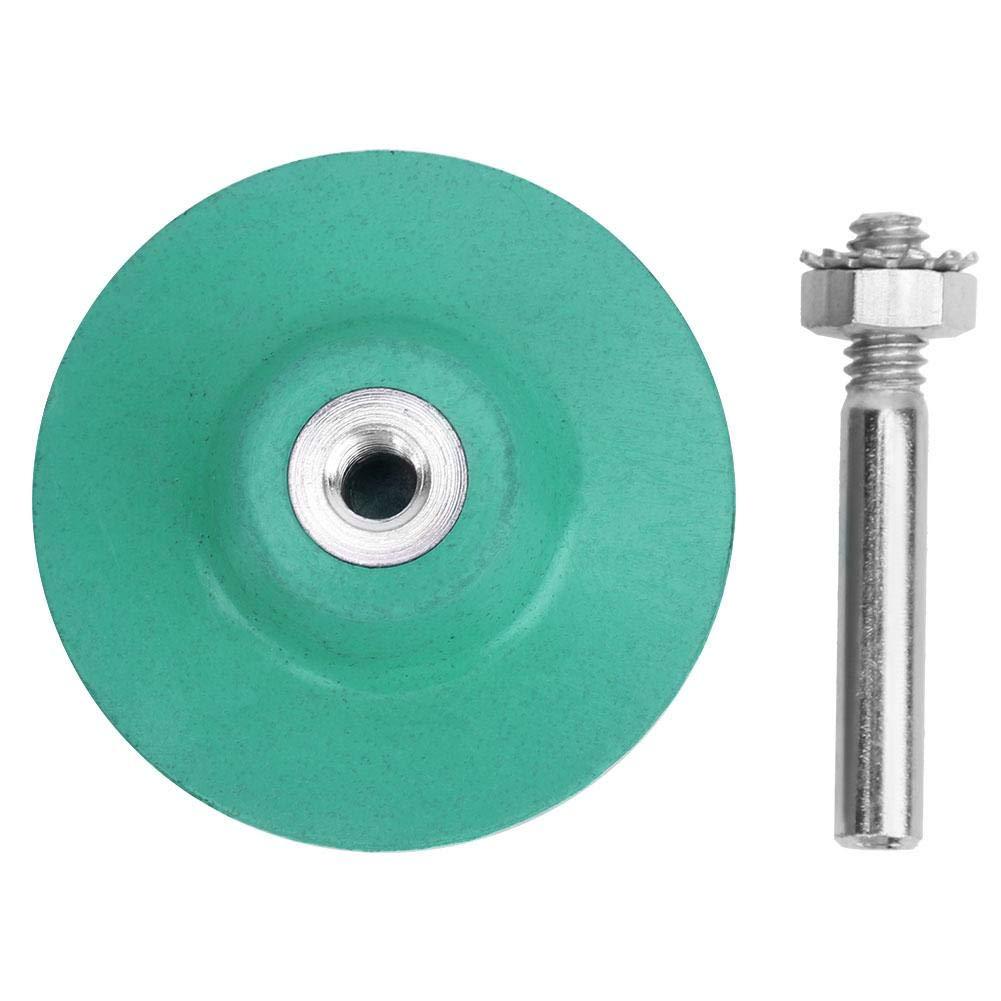 Disco di setola per trapano elettrico disco di setola abrasivo da 50 mm//2 pollici con gambo da 1//4 di pollice Verde, 50# mola abrasiva con lucidatura a grana 50//80//120 opzionale