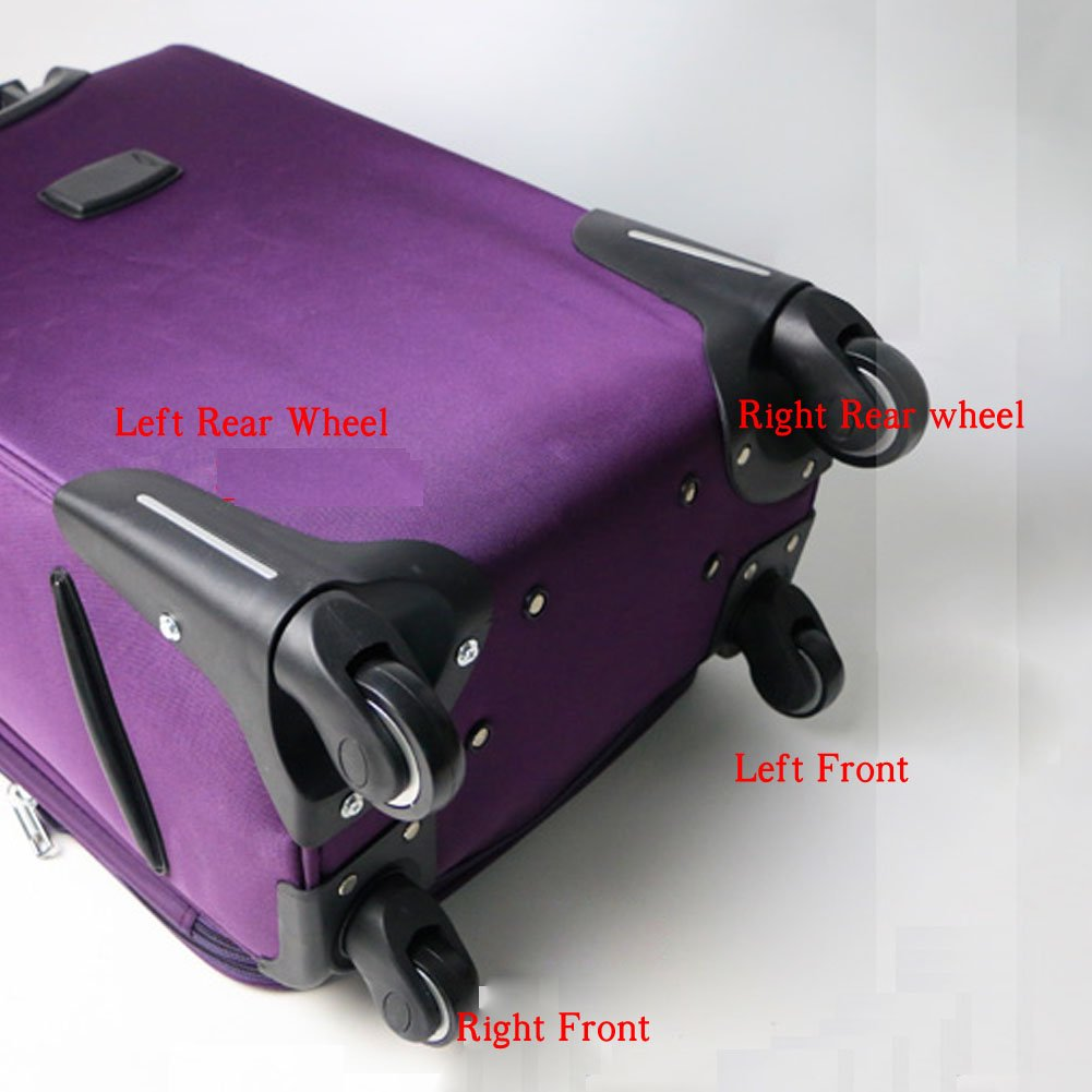 A Set Super Ma Luggage Universal Wheel