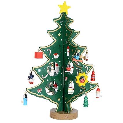 Serwoo H 28cm Weihnachtsbaum Tannenbaum Klein Mit