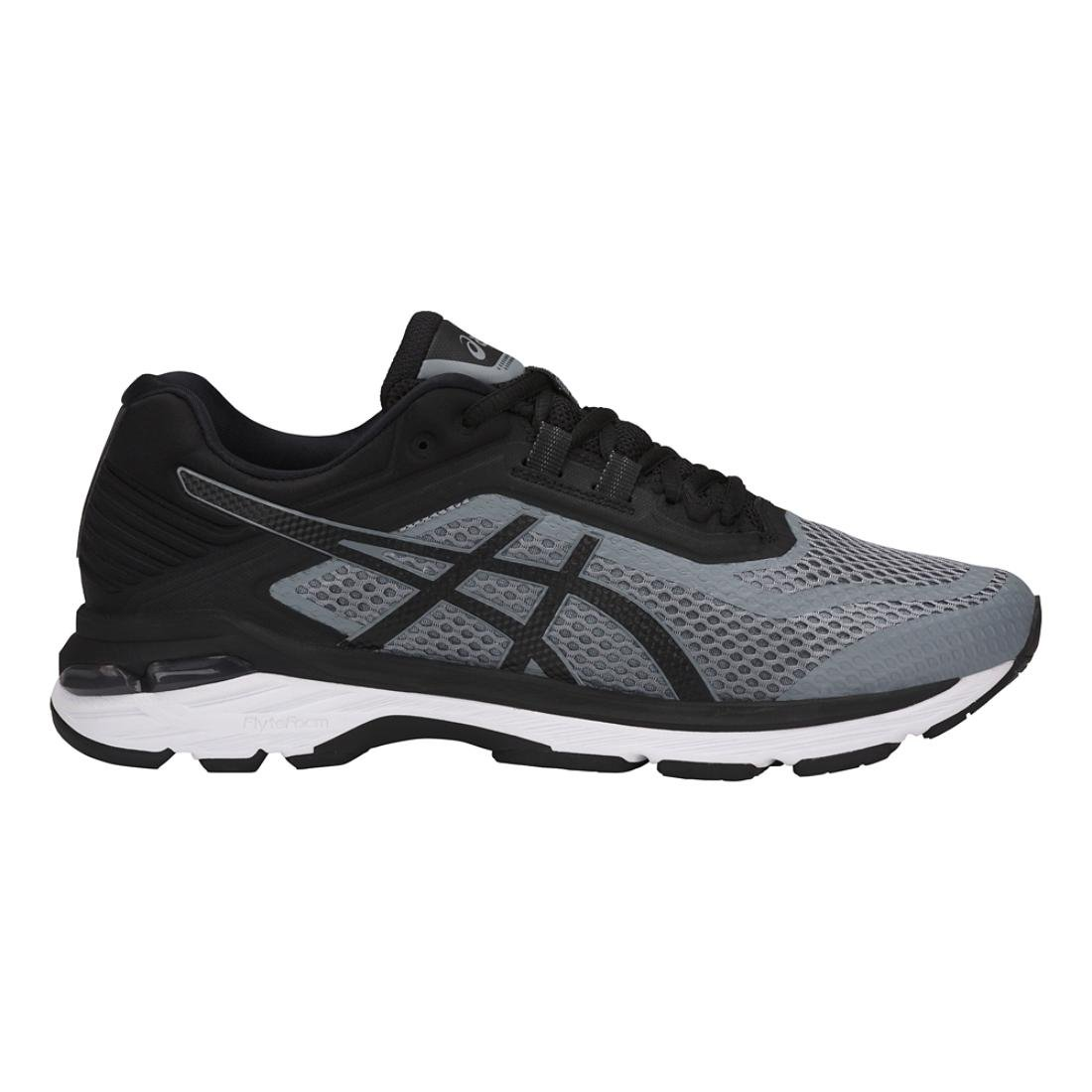 ASICS GT-2000 6 Men's Running Shoe, Stone Grey/Black/White, 6 M US