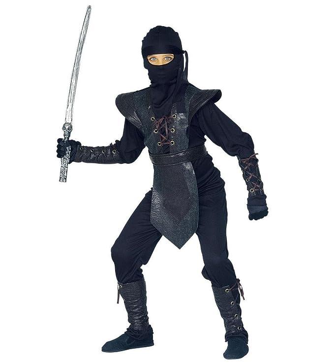 Amazon.com: De los niños lucha Ninja 158 cm Costume Large 11 ...