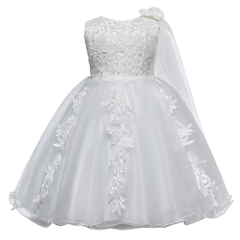 OPAKY Vestido de Novia de Fiesta de Encaje de Princesa Dama de ...