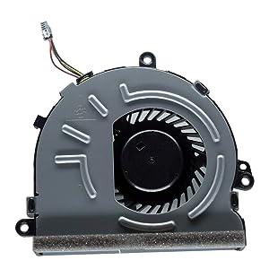 Rangale Replacment CPU Cooling Fan for HP 15-DA 15-DB 15-DR 15-DX 15Q-DX 15T-DS 250 G7 255 G7 256 G7 TPN-C129 TPN-C130 Series Laptop