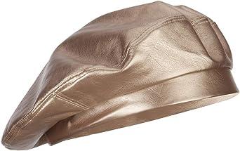 SS/Hat Women's Vegan Leather Fashion Beret
