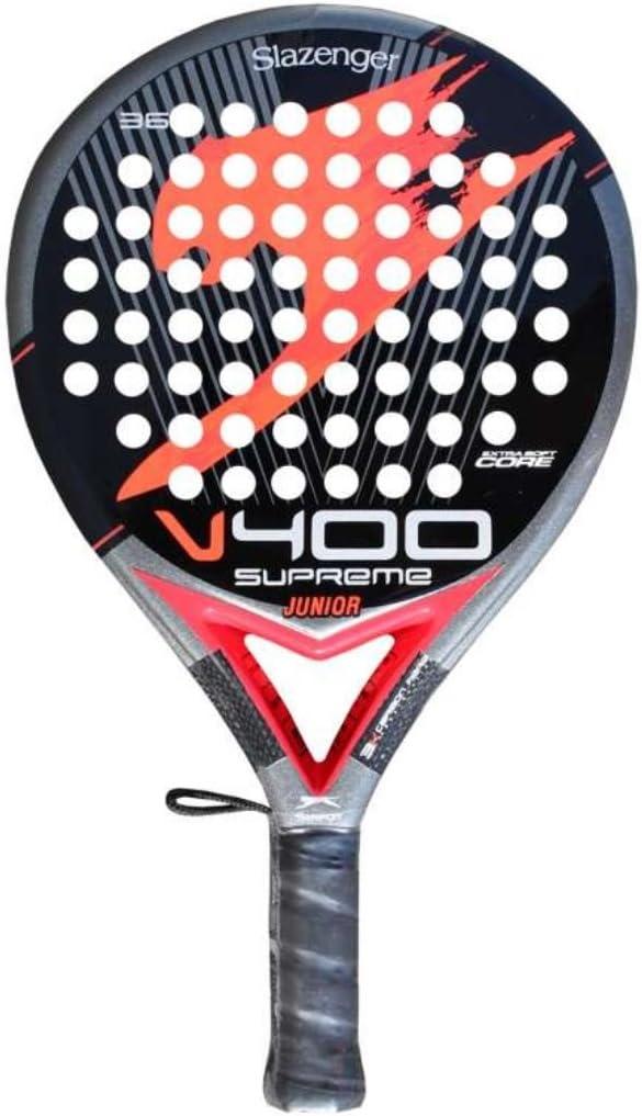 Pala Pádel Slazenger V400 JR Roja: Amazon.es: Deportes y aire libre