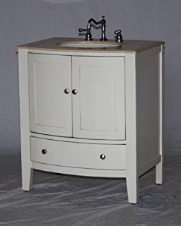 Brinkhill 36 in. Vanity Cabinet Only in Cream - - Amazon.com