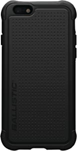 Ballistic Tough Jacket Case for the Apple iPhone 6 and iPhone 6s - Retail Packaging - Black
