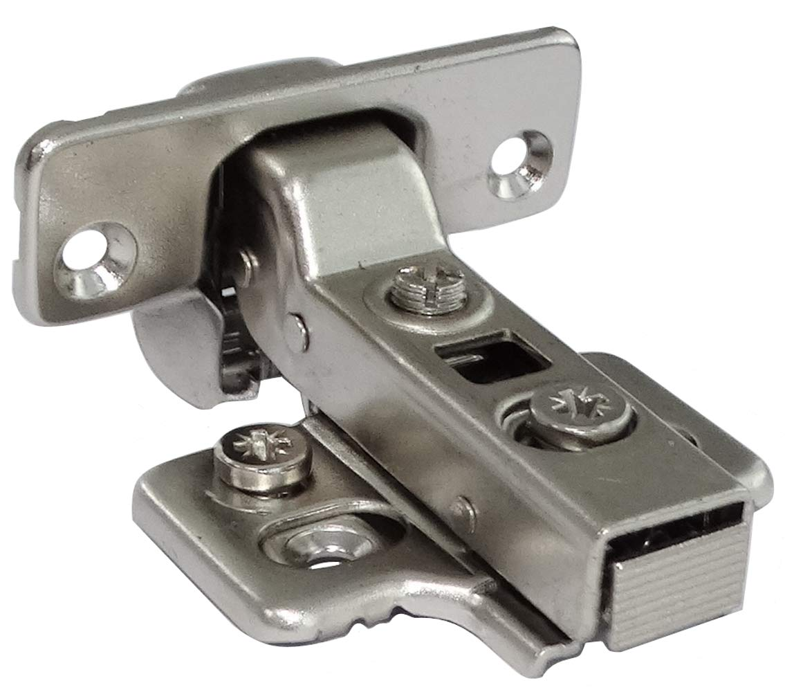 AERZETIX 4x Bisagra de cazoleta curvas 45/° para puerta de muebles C41048