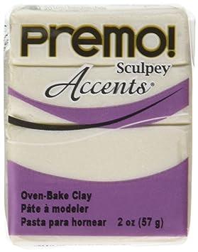 558807a80c711 Sculpey Premo ACCENTS 2oz PEARL 5101 Clay   Dough