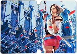 Cubierta de cuero y caja de la PC funda / soporte para funda de Apple iPad Mini 4 funda Con Magnetic reposo automático Función de despertador DIY por Final Fantasy F4D6Ak5D4Hs