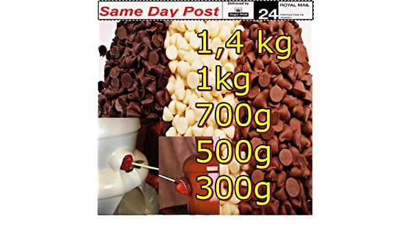 BELCOLADE Chocolate para Fuente Blanco 1 kg: Fiesta Celebración, Dulces, postres decoración: Amazon.es: Hogar