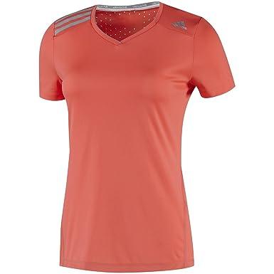 adidas Damen Kurzärmliges Shirt Climachill