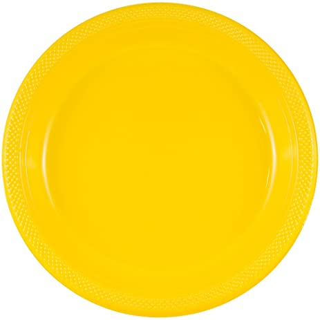 JAM Paper Round Plastic Party Plates - Small - 7\u0026quot; ...  sc 1 st  Amazon.com & Amazon.com | JAM Paper Round Plastic Party Plates - Small - 7 ...