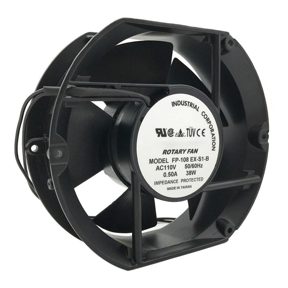 FP-108EX-S1-B 17CM 17215051MM 110/120V Double Ball Bearing Axial Fan