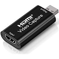 Placas de captura de áudio e vídeo Placa de link de cam 4k HDMI para USB 2.0 Grave em filmadora DSLR Câmera de ação…