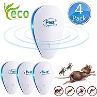Nitoer Repelente Ultrasónico, Plagas Control Interiores, Insectos Antimosquitos