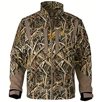 2383f0f6a5fdb Browning 3043262501 Wicked Wing Windkill Jacket, Mossy Oak Shadow Grass  Blades, Small