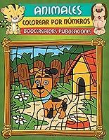Colorear Animales Por Números: Libro De
