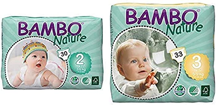 The Best Bamboo Nature Premiun Baby Diapers Size 3