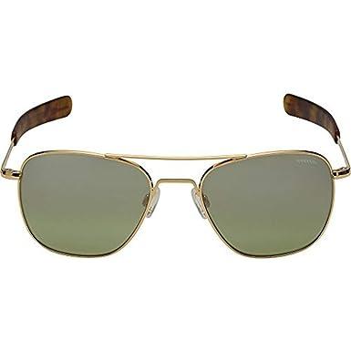 82ba52c28cb Amazon.com  Randolph Engineering Aviator 23K Gold Sunglasses