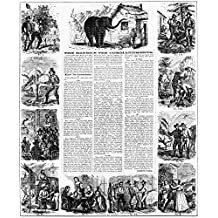 MinerS Ten Commandments Nbroadside By James M Hutchings 1853 On The California Gold Rush Poster Print by (18 x 24)