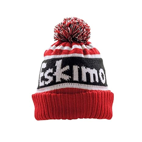 19ac06d86 Amazon.com: Eskimo Fleece Lined Knit Hat with Pom Cold Weather Hats ...