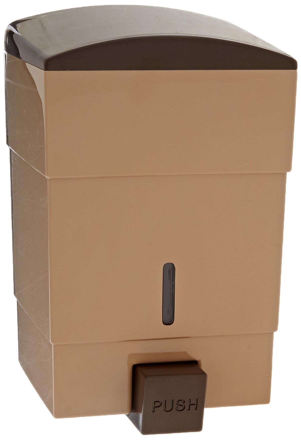 Impact 9350 Triad Soap Dispenser, 50 oz Capacity, 4-1/4'' Length x 4-3/4'' Width x 7-1/2'' Height, Tan (Case of 12)
