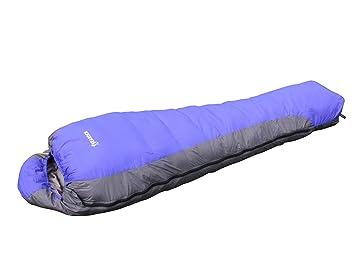 Saco de dormir de invierno de 25 grados con pato Mantenga el equipo de campamento al aire libre cálido: Amazon.es: Deportes y aire libre