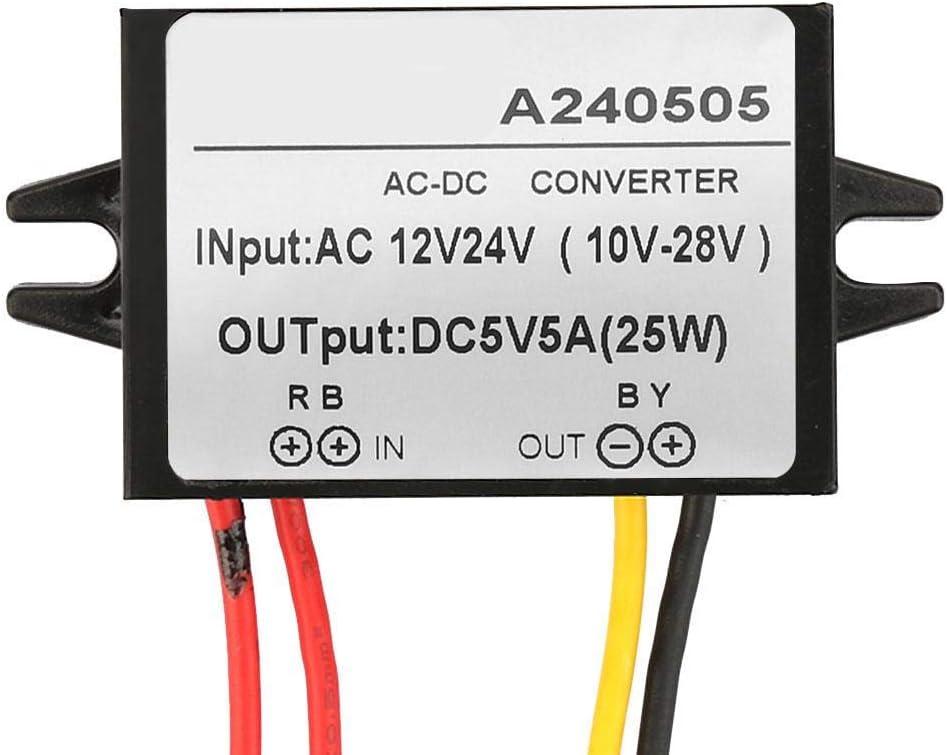 Ac 12v 24v Auf Dc 5v Abwärtswandler Ac Dc Abwärtsstromversorgungsmodul Ac Dc Buck Converter 5a Baumarkt