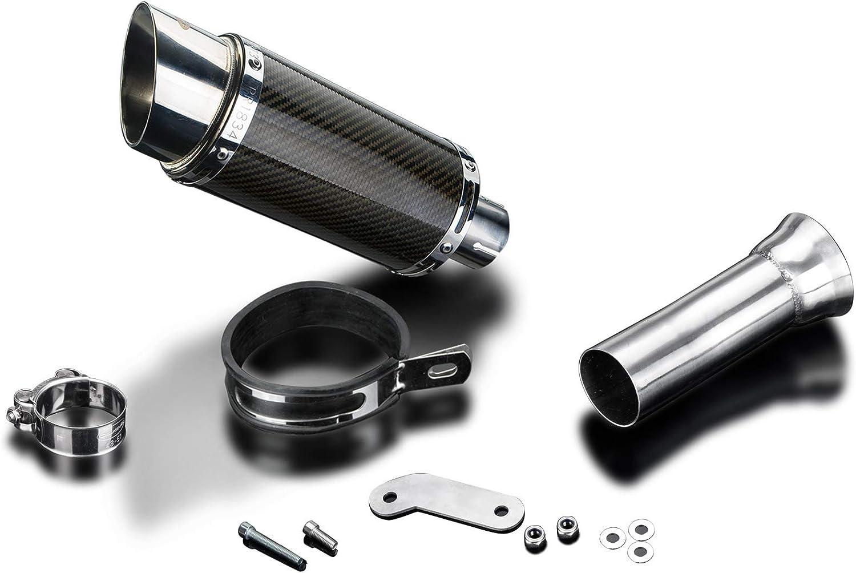 "Delkevic KTM Slip On 1090 1190 1290 Adventure DS70 9/"" Carbon Exhaust Muffler"