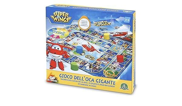 Superwings - Juego de la oca Gigante (Giochi Preziosi UPW22000 ...