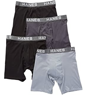 ee1975a2124f Hanes Ultimate Men's Comfort Flex Fit Ultra Lightweight Mesh Boxer ...