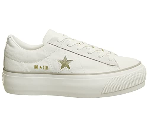 wholesale dealer 7e54d 75c8f Converse ONE Star Sneakers Bassa Platform Canvas Donna Mod ...