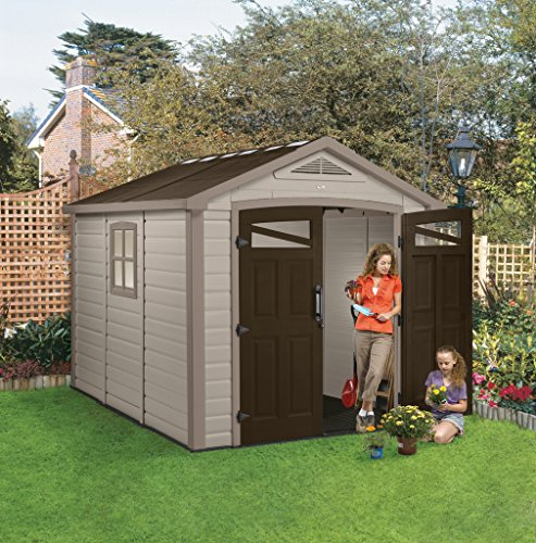 Keter Orion 211979 Dropship Ol Storage Shed 8x9ft