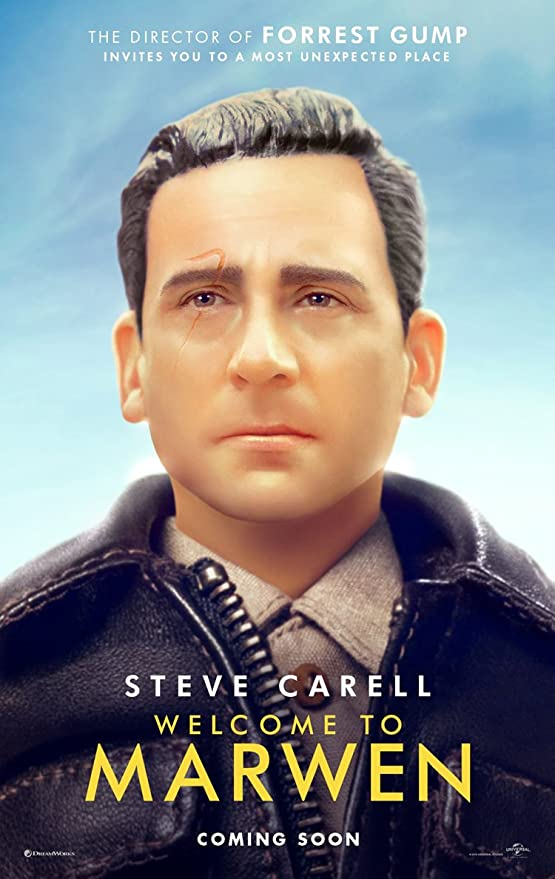 Amazon.com : WELCOME TO MARWEN MOVIE POSTER 2 Sided ORIGINAL INTL Advance  27x40 STEVE CARELL : Everything Else