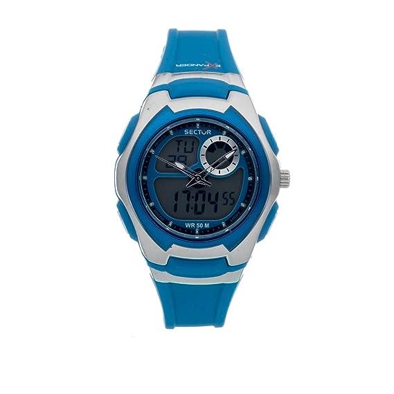 Sector Reloj analogico para Mujer de Cuarzo con Correa en Caucho R3251172037: Amazon.es: Relojes